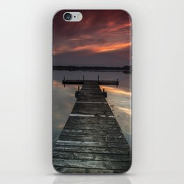 Moon Lake iPhone Skin