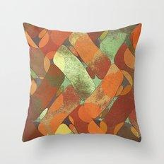 Autumn shapes Throw Pillow