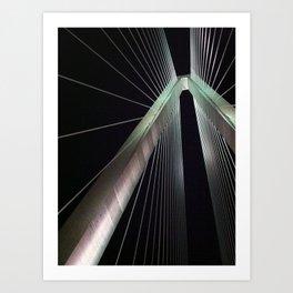 Arthur Ravenel Jr. Bridge Art Print