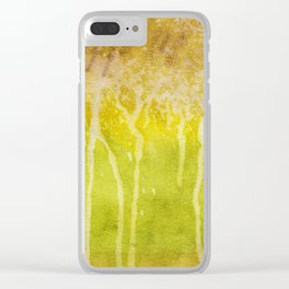 Abstract No. 213 Clear iPhone Case