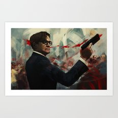 Forgive me Father for I have Sinned  / Kingsman Art Print