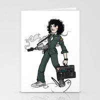 ripley Stationery Cards featuring Ripley  by shugmonkey