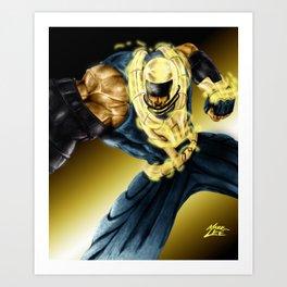 Baler 2 Art Print