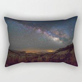 Fairyland Canyon Starry Night Photography Rectangular Pillow