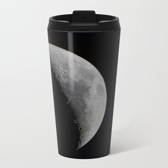 Crescent Moon Metal Travel Mug