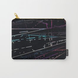 Neon Disco Carry-All Pouch