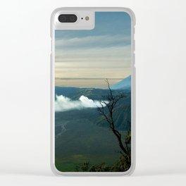 Bromo caldera de tenegger  Indonesia Clear iPhone Case
