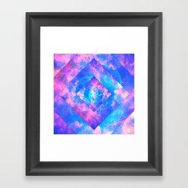 Diamond Galaxy Framed Art Print