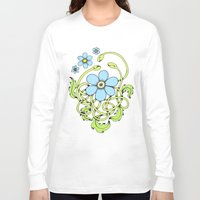 daisy Long Sleeve T-shirts featuring Daisy by Solomiya Shevchuk
