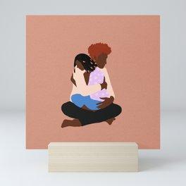 Mother & Child Mini Art Print