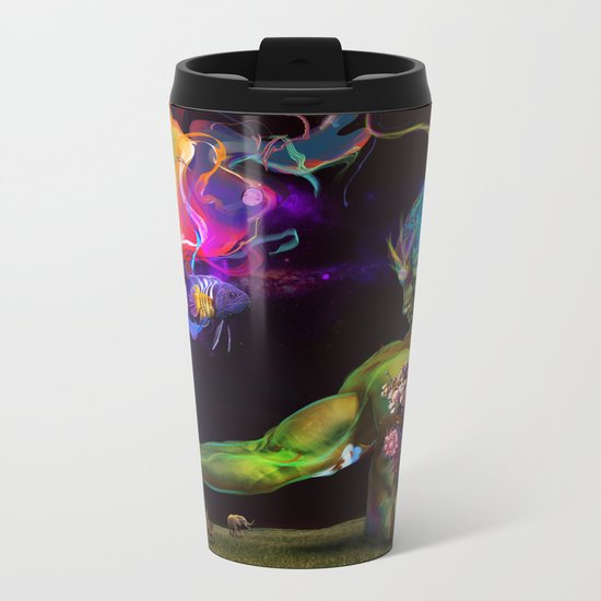 Alchemy Resonance Metal Travel Mug