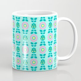 Flowery Lady Bird Coffee Mug