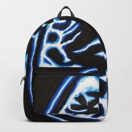 Blue Brain Scan Backpack