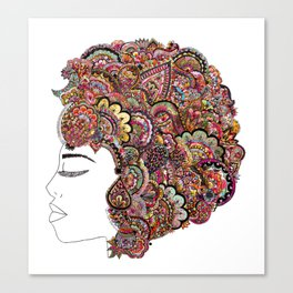 Her Hair - Les Fleur Edition Canvas Print