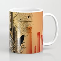 decorative Mugs featuring Decorative clef by nicky2342