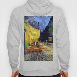 Van Gogh, Café Terrace at Night 1888 Artwork Reproduction, Posters, Tshirts, Prints, Bags, Men, Wome Hoody