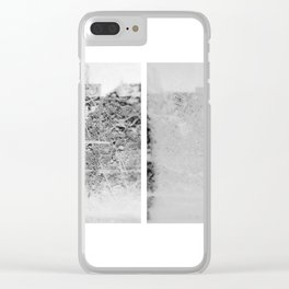 """two icy-cold hands conducting the way"" Clear iPhone Case"