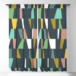 Modern Geometric 37 Blackout Curtain