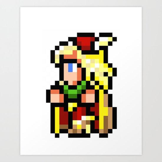 Final Fantasy II - Edward Art Print
