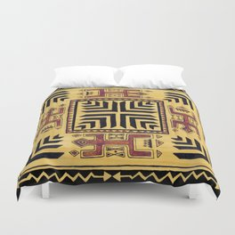 Southwest Shaman Tile Duvet Cover