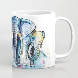 Elephant Herd Coffee Mug