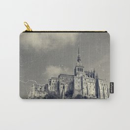 The Island of Mont St Michel Carry-All Pouch
