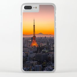 TOKYO 01 Clear iPhone Case