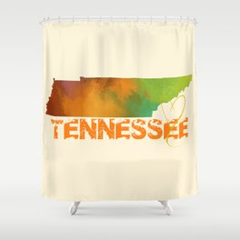 Tennessee Love Shower Curtain