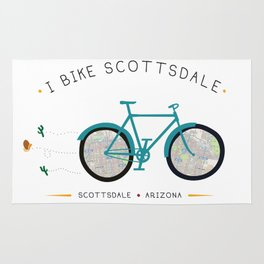 Scottsdale, Arizona by I Bike Rug