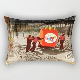 Vintage City · Fast Forward Rectangular Pillow