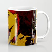 redhead Mugs featuring Redhead by Sandra Höfer