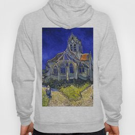 "Vincent Van Gogh ""The Church In Auvers Sur Oise"" Hoody"