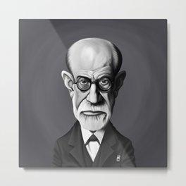 Sigmund Freud Metal Print