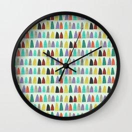 Minami Pattern Wall Clock