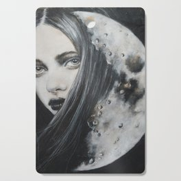 Weeping Heart and the Moon Cutting Board
