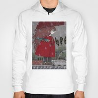 freud Hoodies featuring At the Harbor by Judith Clay