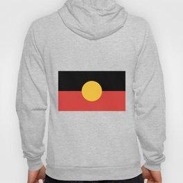 Australian Aboriginal Flag Hoody
