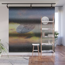 What is Reality?  Fun UFO image Wall Mural