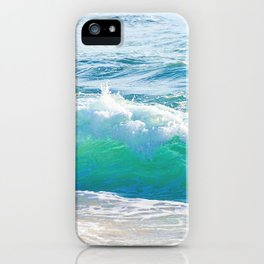 Gentle Surf iPhone Case