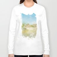 rome Long Sleeve T-shirts featuring Rome by FarbCafé