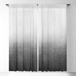 BLUR / abyss / black Blackout Curtain
