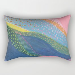 """Corales"" Marisa Moscoso Rectangular Pillow"