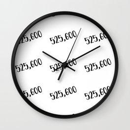 Measure in Love Wall Clock