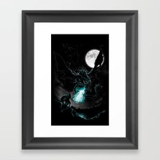 Meet the Myth Framed Art Print