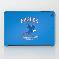 ravenclaw iPad Cases featuring Eagles Ravenclaw by Fresco Umbiatore