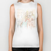 hobbit Biker Tanks featuring Thranduil_The Hobbit by JoySlash