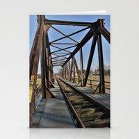 bridge Stationery Cards featuring Bridge by Falko Follert Art-FF77