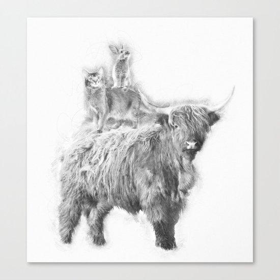 Fantastic 3 Canvas Print