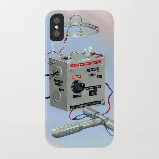 Uncle Rico's Time Machine iPhone Case