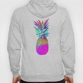 Retrowave Neon Pineapple Vaporwave Hawaiian Gift Hoody